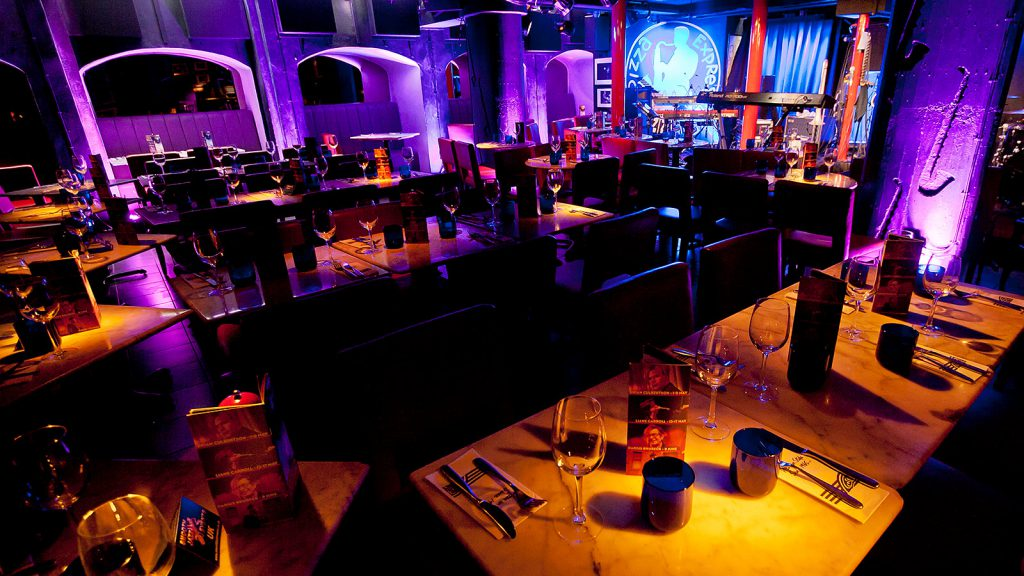 Soho Pizza Express, Top 10 London Jazz Clubs - Tom Belbin Trio - Live Jazz Band for event hire